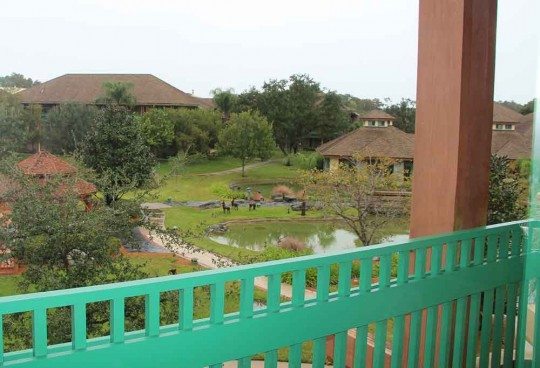 Shades of Green Junior Suite Double Balcony View