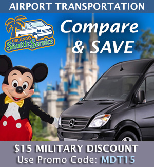 Military Discount with Orlando Shuttle Service