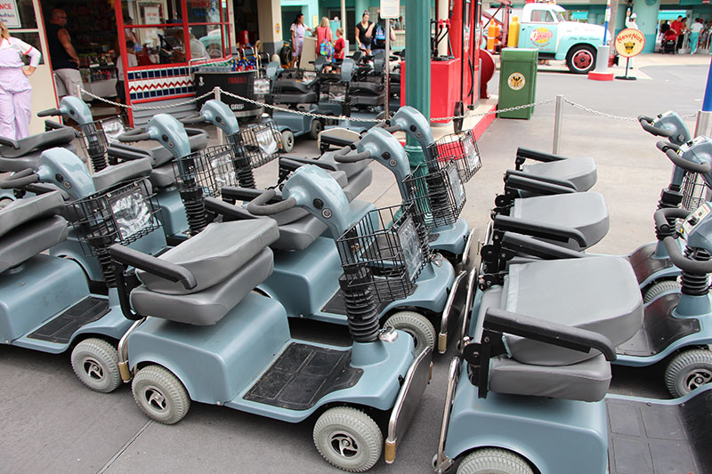 Scooter rentals at shades of green military disney tips blog for Motorized scooter disney world