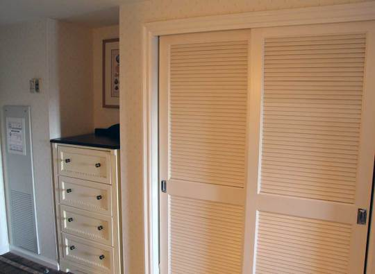 Walt Disney World's Beach Club Resort - Hall and Closet