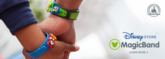 Disney Magic Bands for Shades of Green