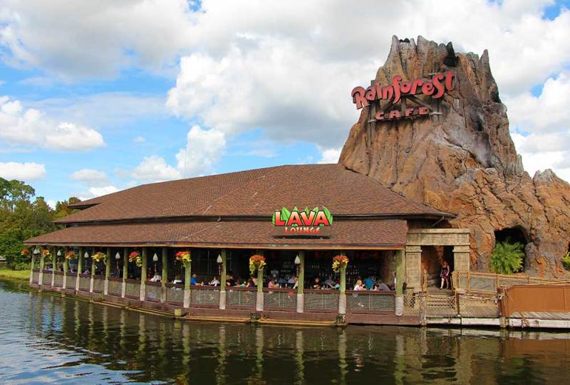 Disney Springs Rainforest Cafe Military Discount.jpg