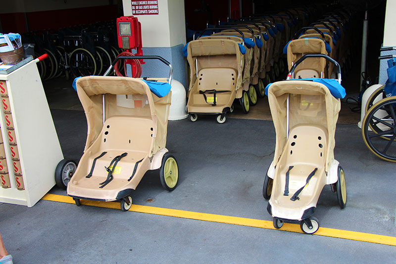 2019 Military Discounts On Stroller Rentals at Walt Disney