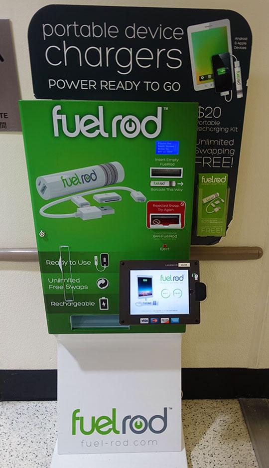Orlando International Airport FuelRod Station