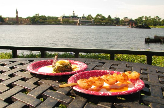 Epcot Food and Wine Fest for Military