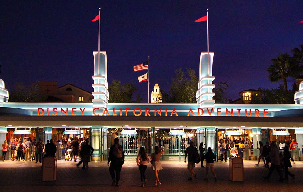 Disney California Adventure Military Ticket
