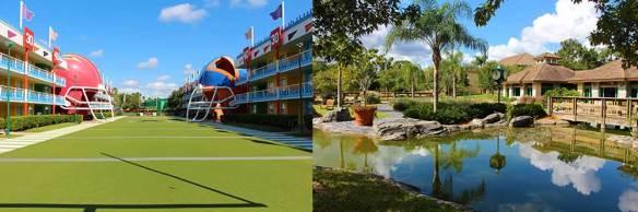 Disney Shades of Green Split Stay