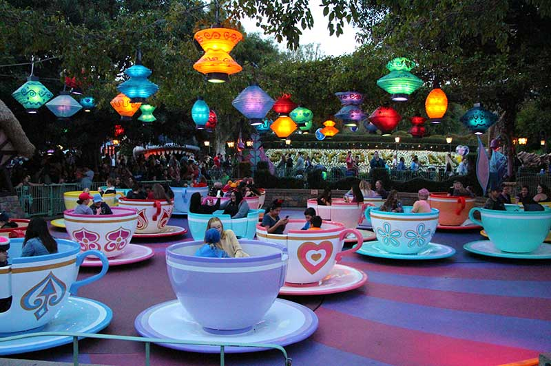 Disneyland Tips and Tricks Tea Cups