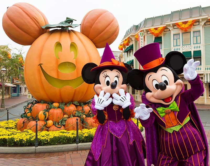 disneyland halloween party c disney