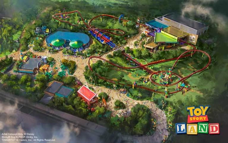Toy Story Land Press Event