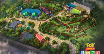 WDW Toy Story Land Grand Opening