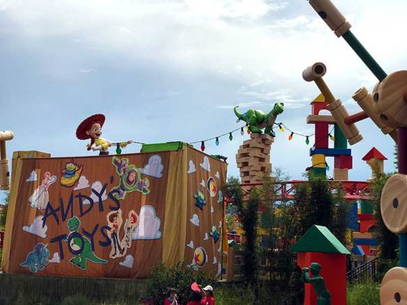 "You are ""Toy Sized"" in Toy Story Land"