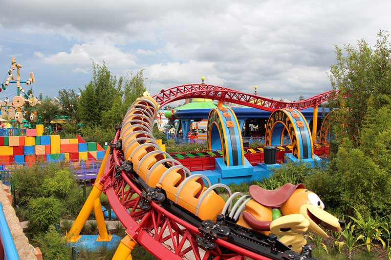 Toy Story Land Slinky Dog Dash