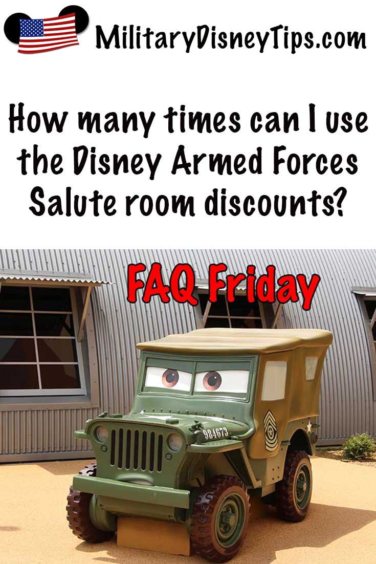 How-Many-Times Can I Use the Disney Armed Forces Salute Room Discounts
