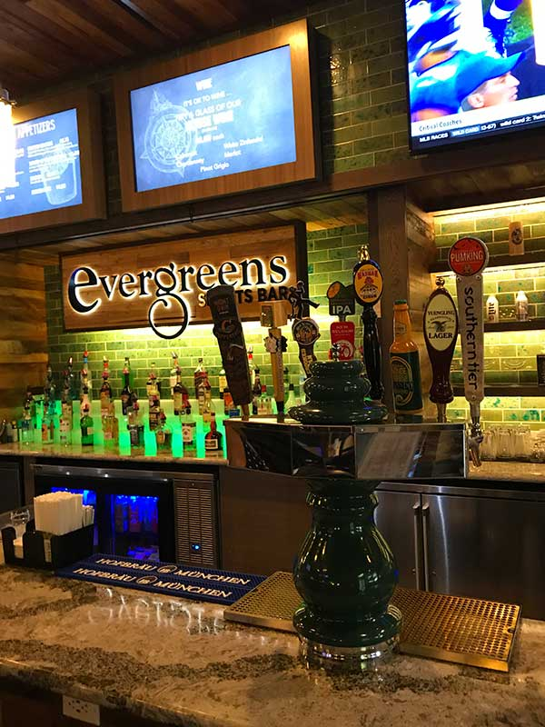 Shades of Green Resort Evergreen's Sports Bar Review