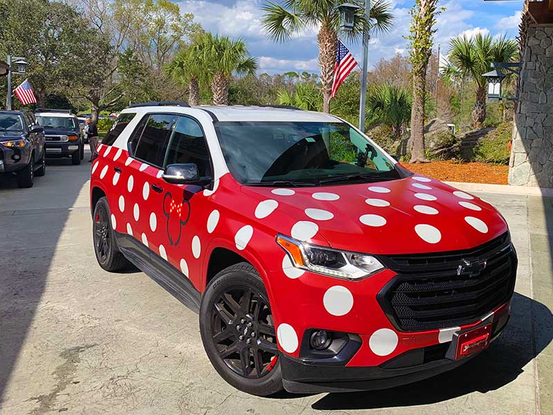 Walt Disney World Minnie Van Service