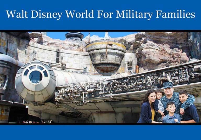 Walt Disney World for Military Families 2020