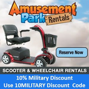 Disney World Military Discounts on Scooters and Wheelchairs