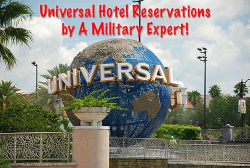 Universal Studios Military Expert Travel Agent