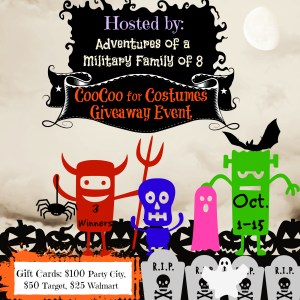 CooCoo over Costumes Halloween Giveaway Event