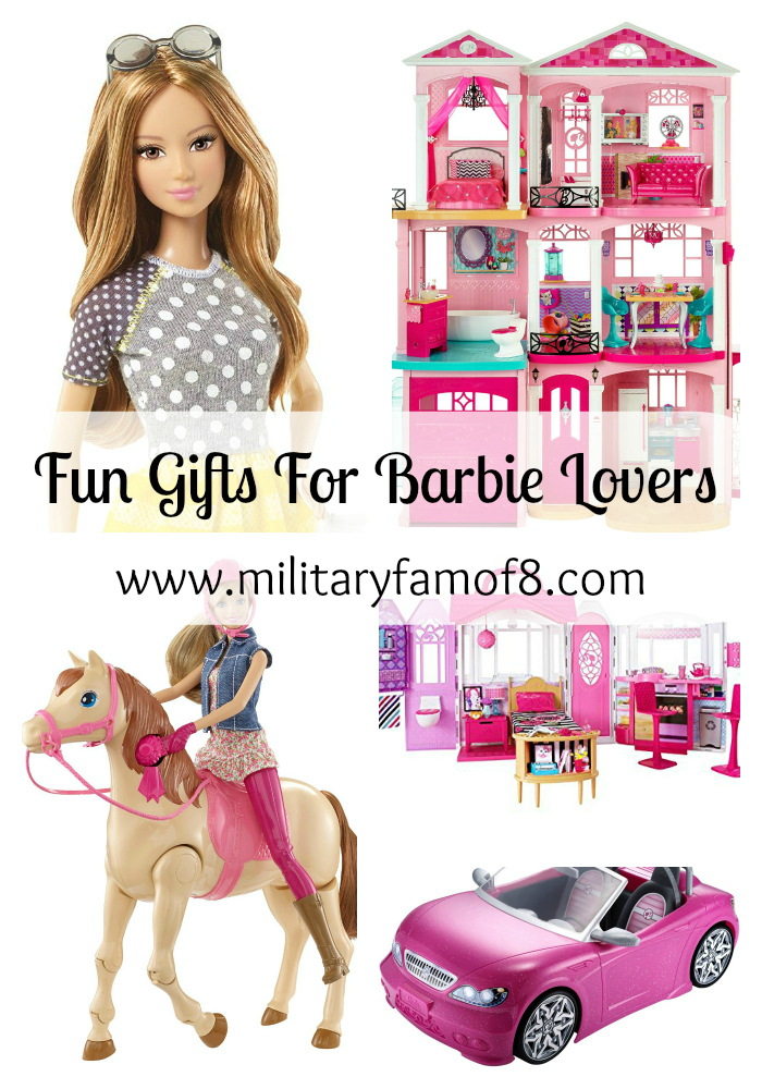 The 50+ Item Gift Guide for Barbie Lovers