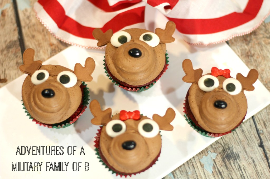 Easy and Adorable Reindeer Cupcake Recipe