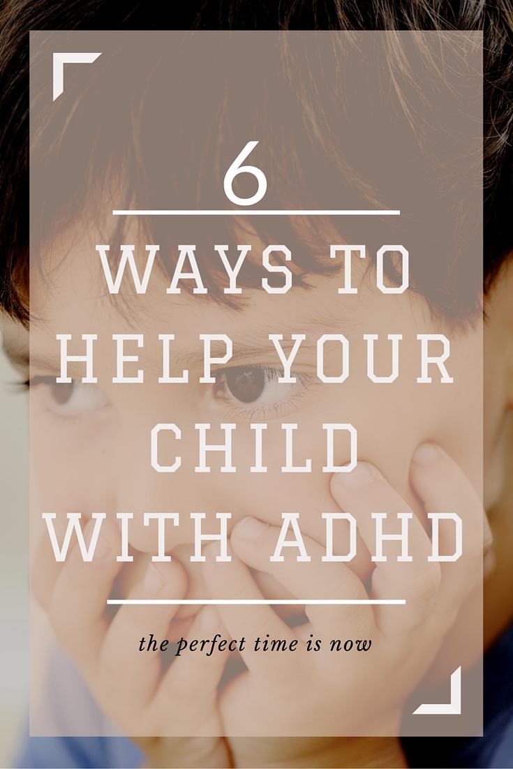 Ways to Help ADHD