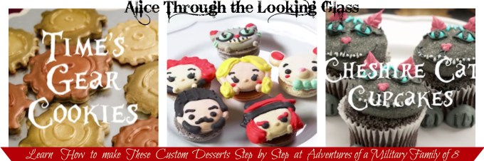 learn how to make alice through the looking glass desserts