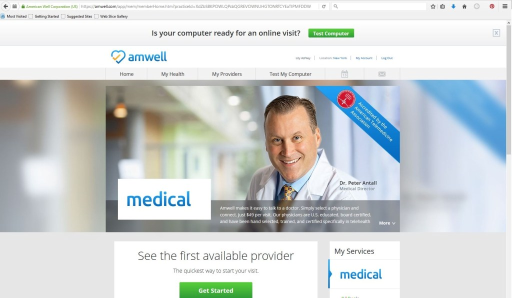 A Mother's Lifeline- Amwell Medical Services