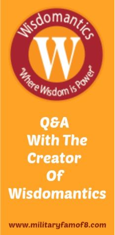 Wisdomantics Family Game Q&A w/Creator and iPad Air 2 Giveaway