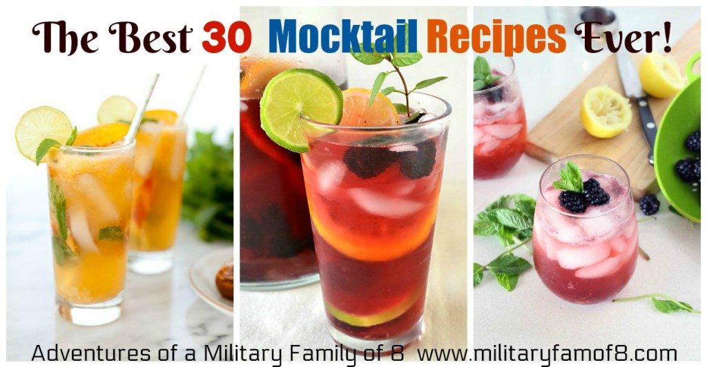 The Best 30 Mocktail Recipes Ever!