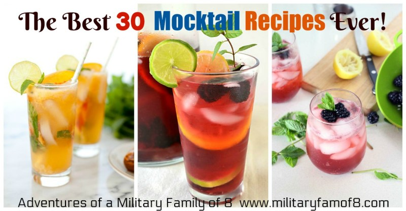 Ultimate List of Holiday Cocktail & Mocktail Recipes & The Best 30 Mocktail Recipes Ever!
