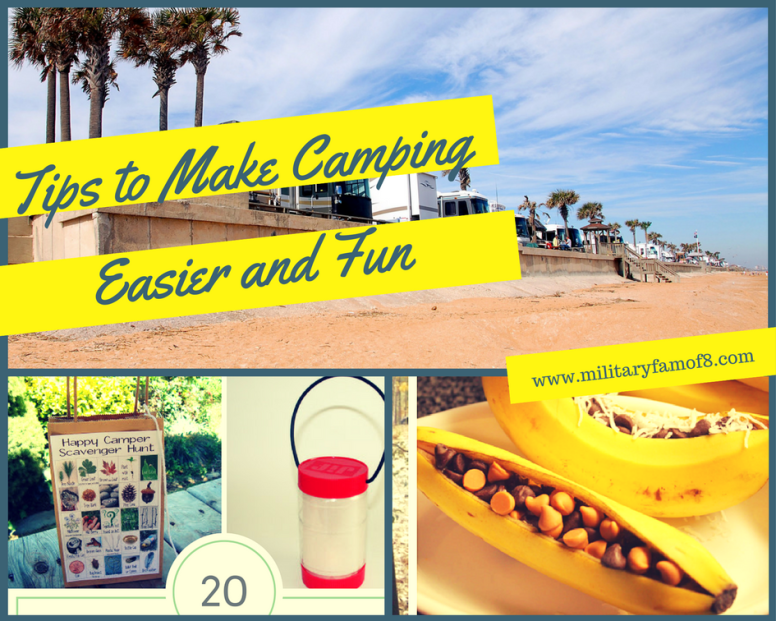 20 Tips to Make Camping Easier and Fun