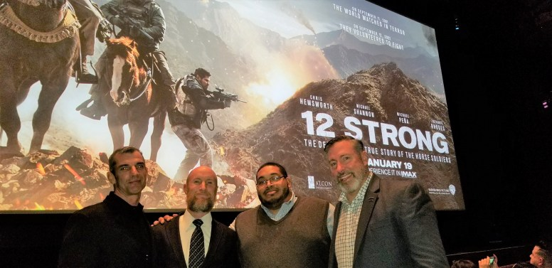 12 Strong- My Story of Meeting the 12 Horsemen and Attending the World Premier