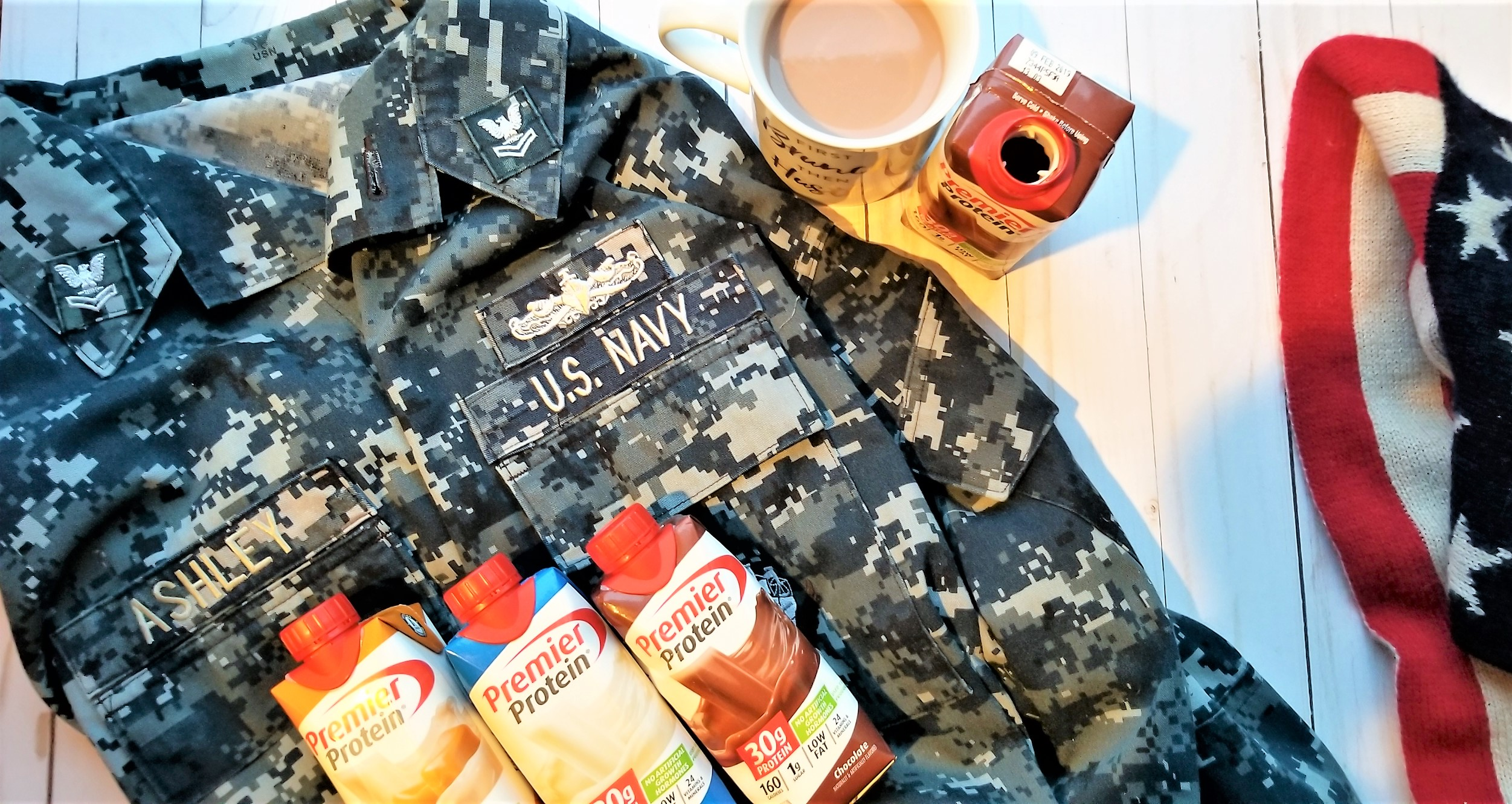 Celebrate Military Hour with Premier Protein & Costco