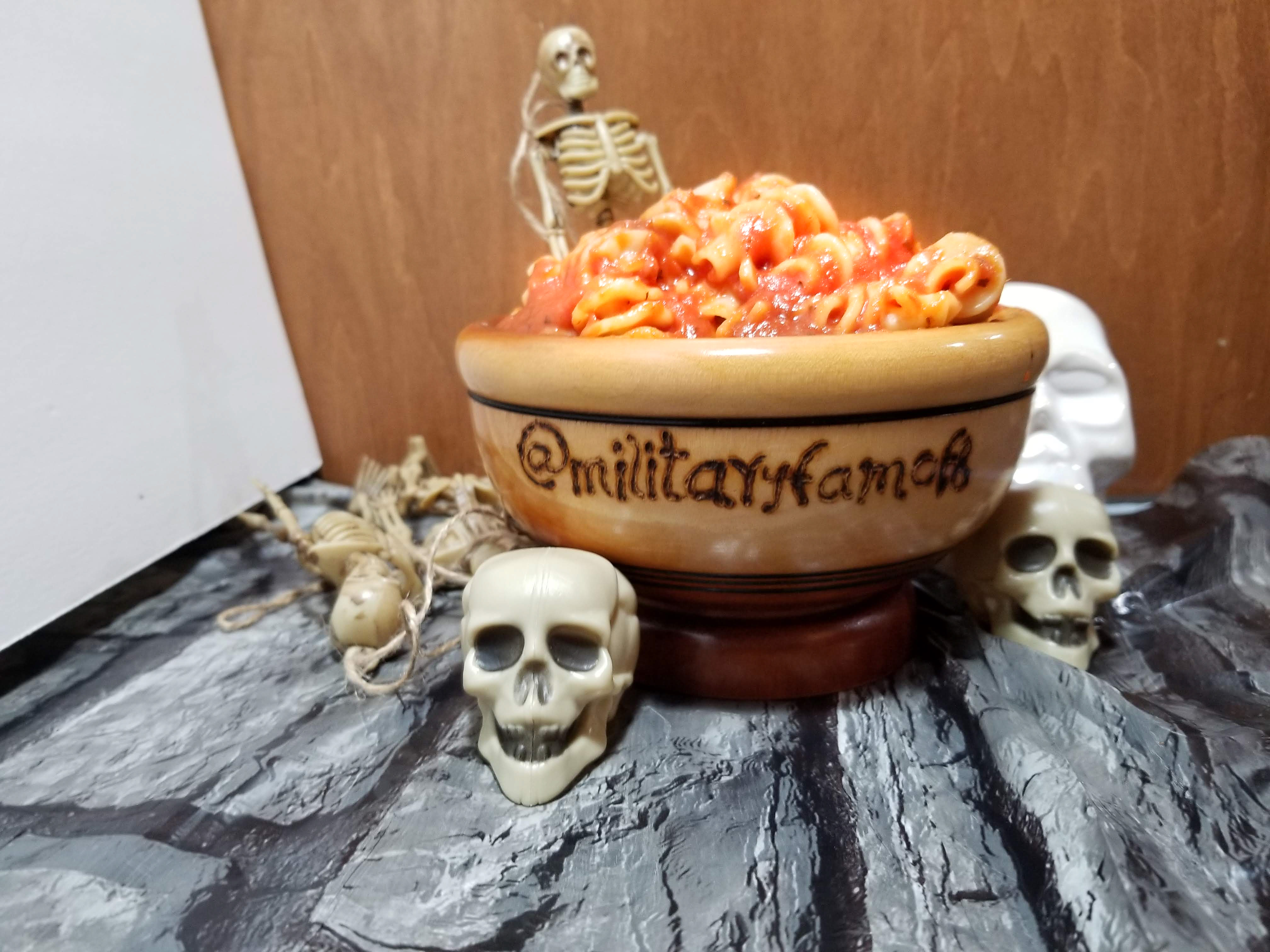 How to Make Creepy Brain Pasta! This is the easiest and fastest meal I have ever made; did I mention it was also the grossest? Stop by our site and read our post, you will see our recipe is dead on!