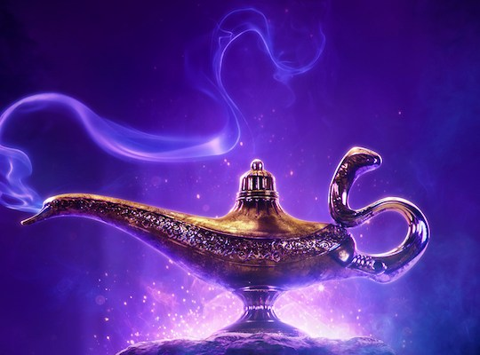 A Wish Has Been Granted- ALADDIN the Movie! I am SO excited to watch and show you the brand new teaser-trailer to the live-action version of Disney's Aladdin!