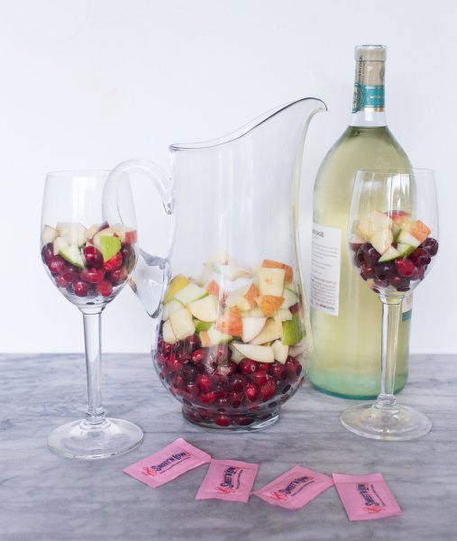 Cranberry Apple Sangria Ultimate List of Holiday Cocktail & Mocktail Recipes