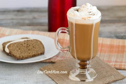 Gingerbread Spice Coffee Gingerbread Latte Ultimate List of Holiday Cocktail & Mocktail Recipes