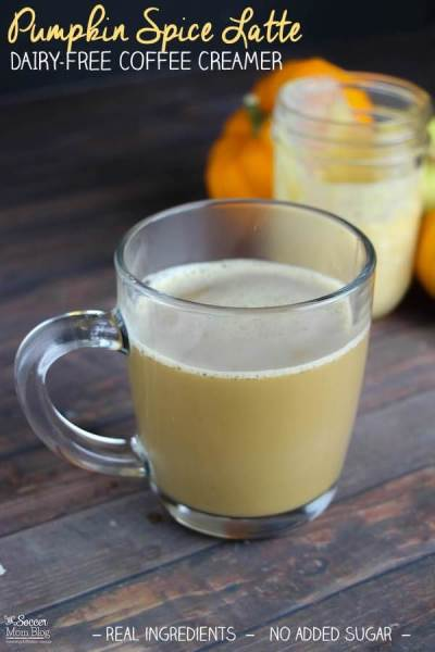 Healthy Homemade Pumpkin Spice Latte Ultimate List of Holiday Cocktail & Mocktail Recipes