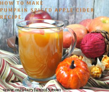 How to Make Pumpkin Spiced Apple Cider Recipe.