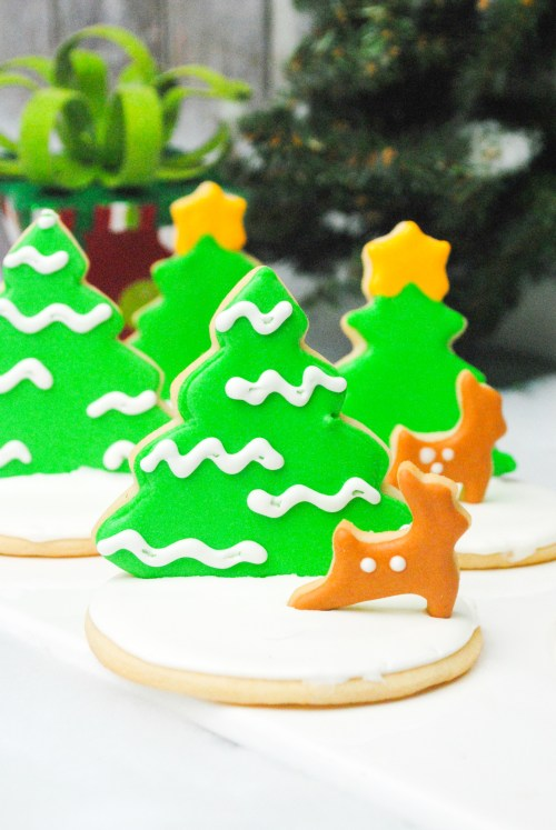 This is our Recipe for the Best Christmas Cookies Ever! From the flavors to the adorable designs, these are sure to be the talk of the dessert table! #Christmascookies #holidaycookies