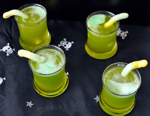 Spooky Sparkling Punch The Spookiest Halloween Drink Recipes Ever!