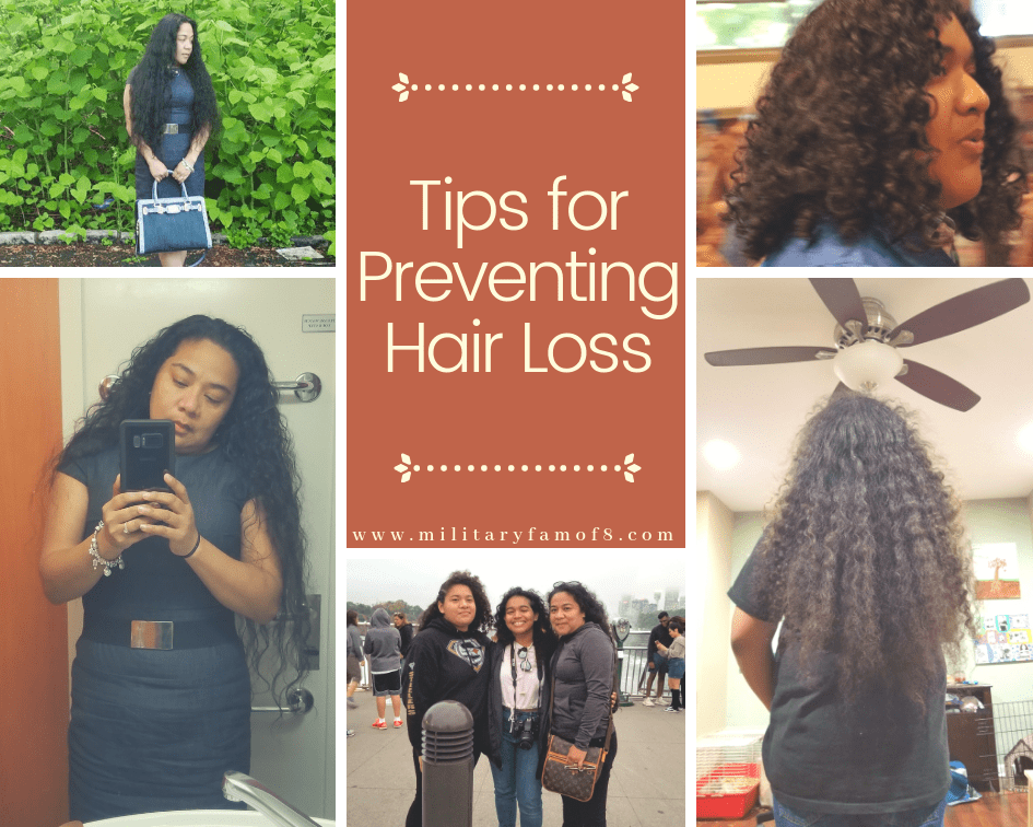 Tips For Preventing Hair Loss Adventures Of A Military Family Of 8