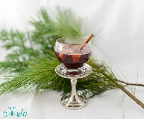 Wassail- A warm spiced wine & beer drink Ultimate List of Holiday Cocktail & Mocktail Recipes
