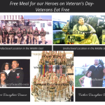 Free Meal for our Heroes on Veteran's Day- Veterans Eat Free. Restaurant offering free meals for Veterans and active duty Military on Veterans day.