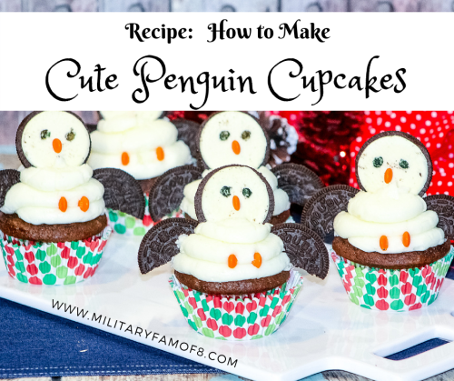 This Recipe: How to Make Cute Penguin Cupcakes is the easiest recipe I have. For the biggest shortcut ever, buy your cupcakes from the grocery store and only worry about making the penguins! This is one of my favorite quick and easy recipes!