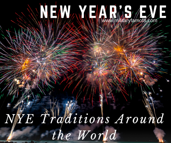 New Year's Eve/ NYE Traditions Around the World