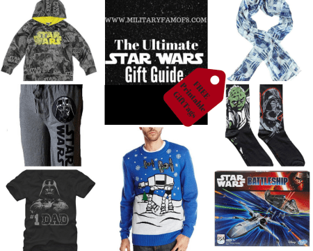 The Star Wars Ultimate Gift Guide and Free Printable Gift Tags. What gift to buy a Star Wars fan? Best Star Wars gifts to give?