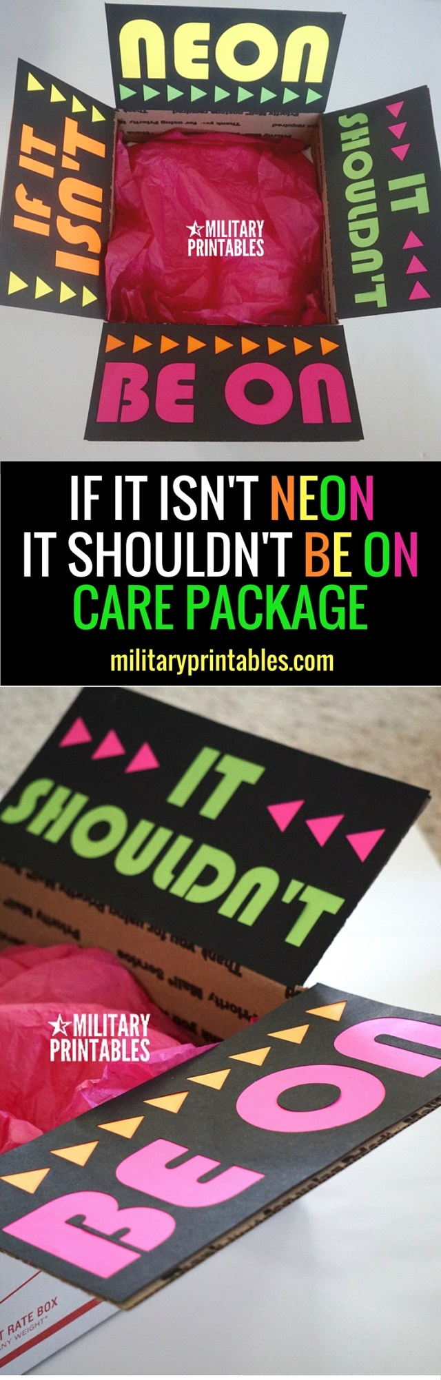 If It isn't neon, it should be on care package (1)